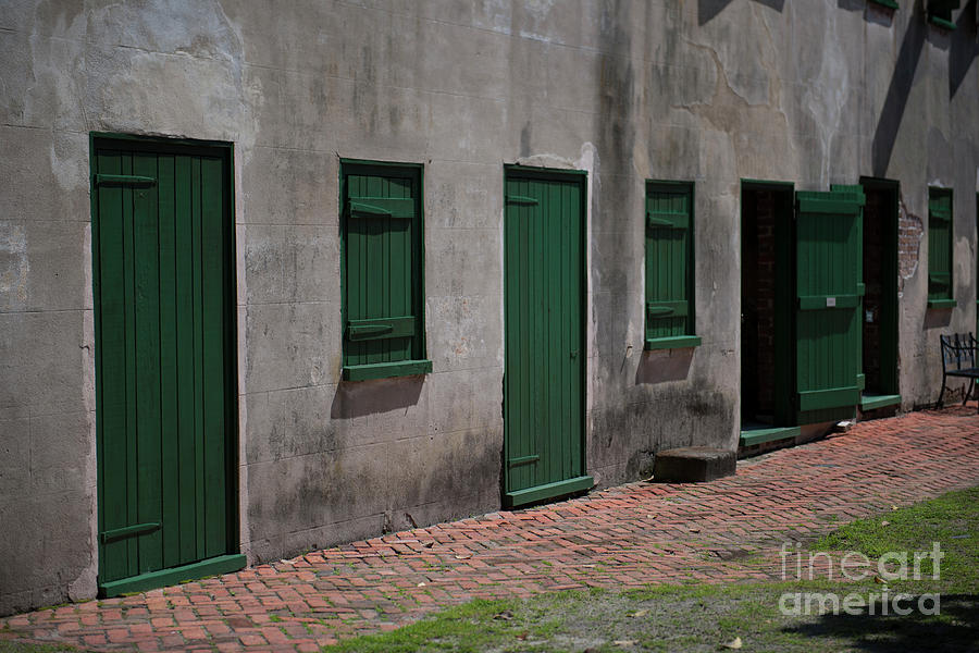 Aiken Doors Photograph