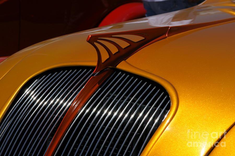 Car Photograph - Airflow by David Pettit