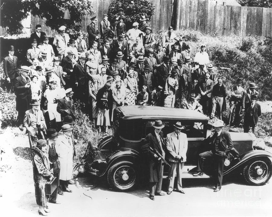 1933 Photograph - Al Capone (1899-1947) by Granger