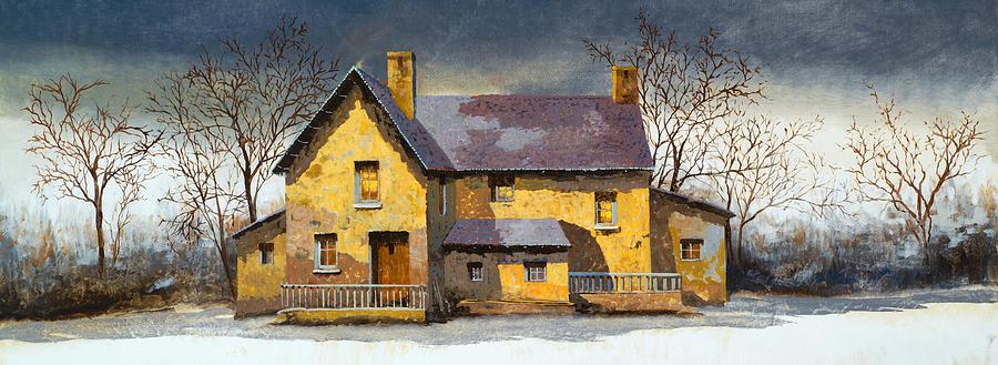 Al Mattino Painting