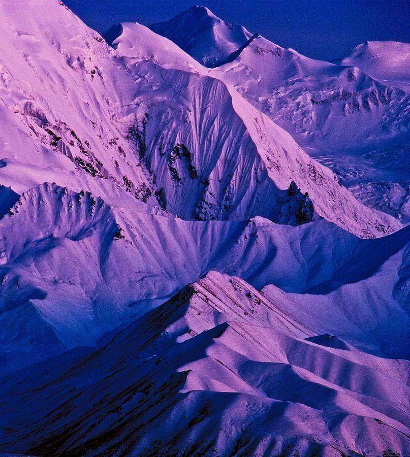 Twilight Photograph - Alaska Range Twilight by Tim Rayburn