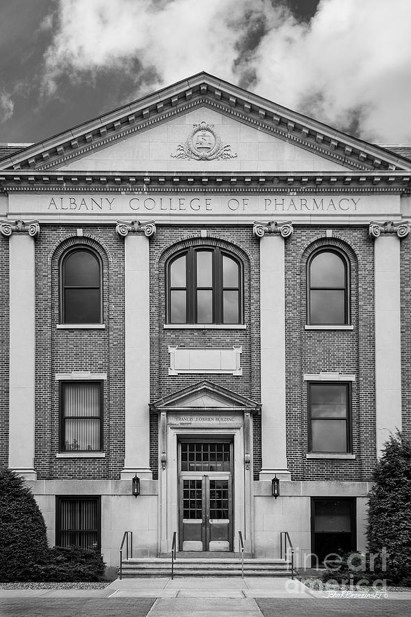 Albany Photograph - Albany College Of Pharmacy O Brien Building by University Icons