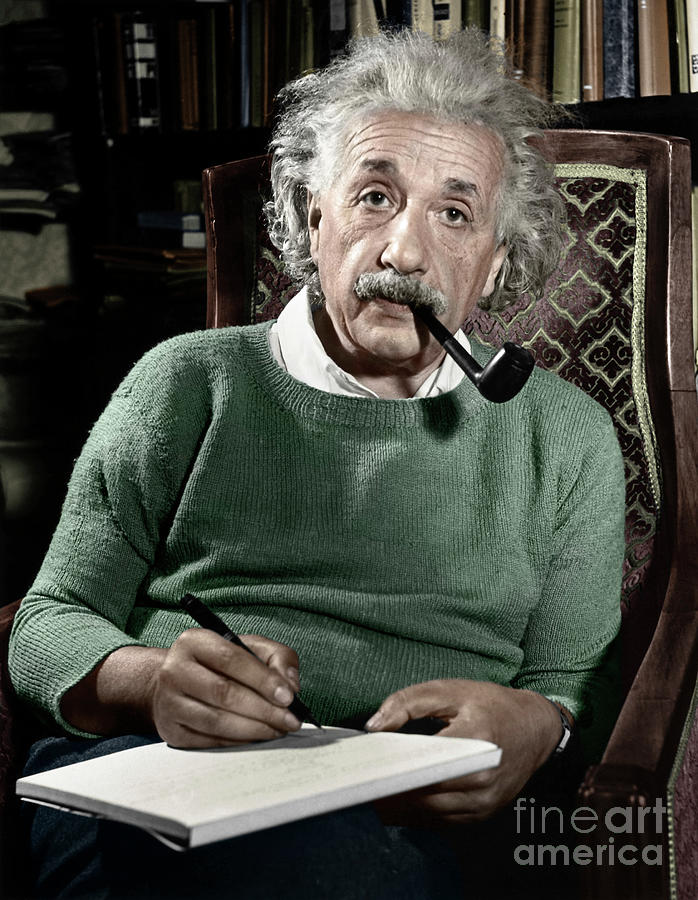 1940 Photograph - Albert Einstein by Granger