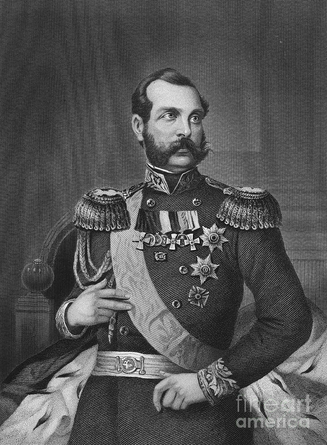 19th Century Photograph - Alexander II (1818-1881) by Granger