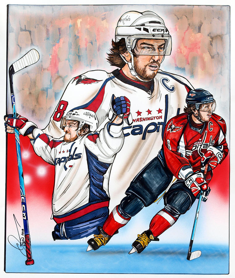 Alex Ovechkin Painting - Alexander The Great by Dave Olsen