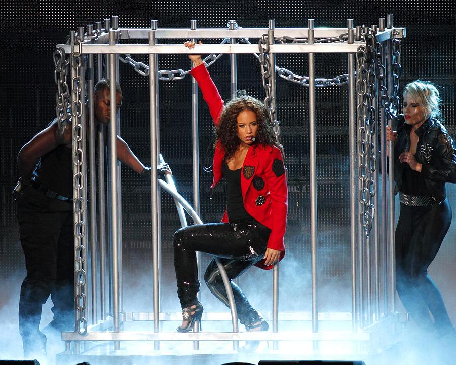 Alicia Keys Photograph - Alicia Keys Uncaged by Steven Sachs