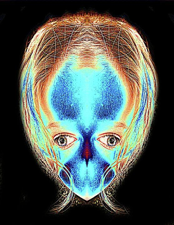 Alien Photograph - Alien Daughter by Tisha Beedle