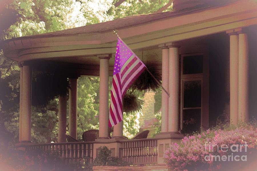 All American Dream Porch Photograph By Laura Birr Brown
