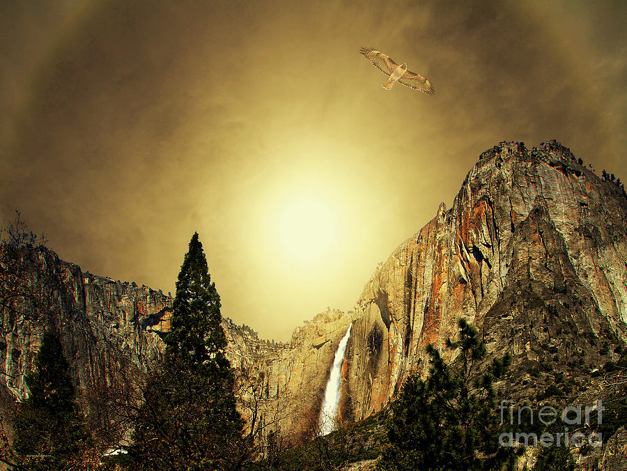 Landscape Photograph - Almost Heaven . Full Version by Wingsdomain Art and Photography