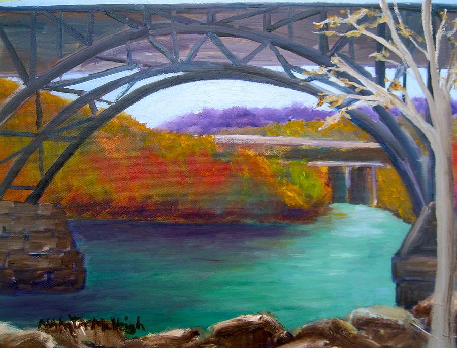 Kelly Drive Painting - Along Kelly Drive by Marita McVeigh