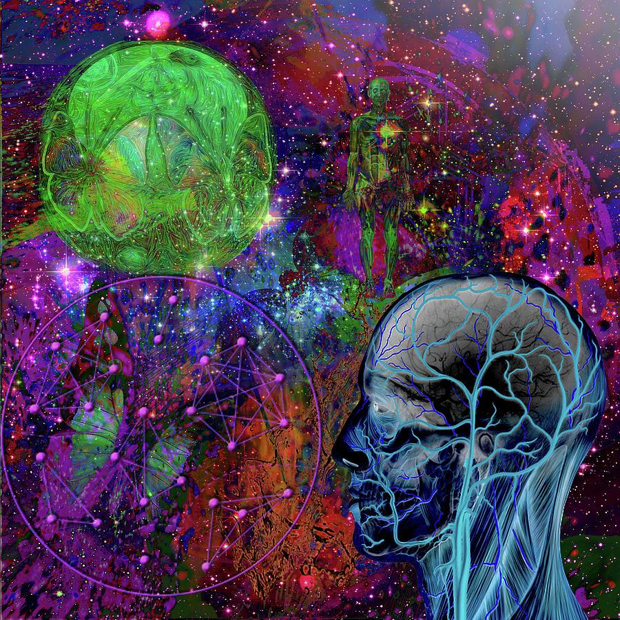 Alpha And Omega Electromagnetic Digital Art