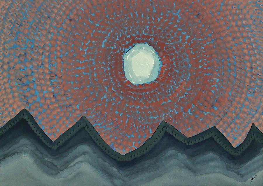Alpine Resonance Original Painting Painting