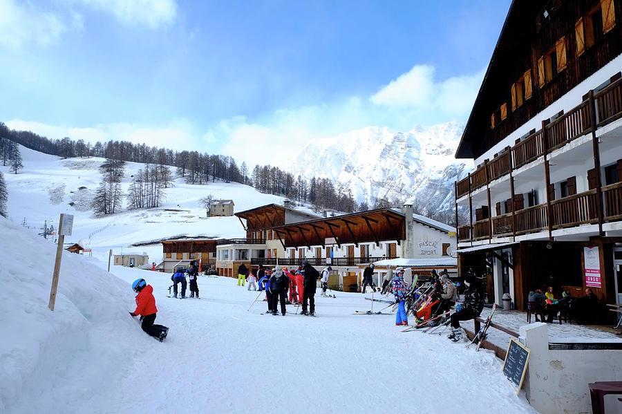 Alps Ski Piste Photograph
