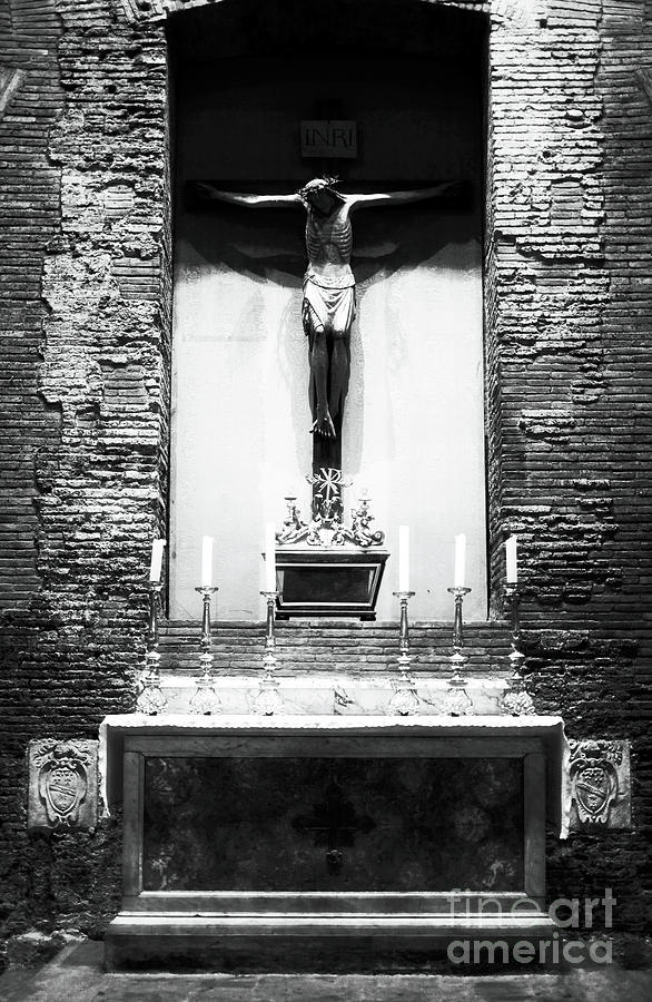 Pictures Photograph - Alter Of Sacrifice by John Rizzuto
