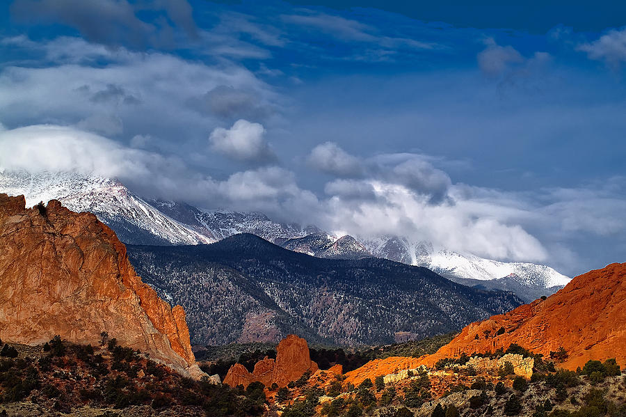 Landscape Photograph - America The Beautiful by Tim Reaves