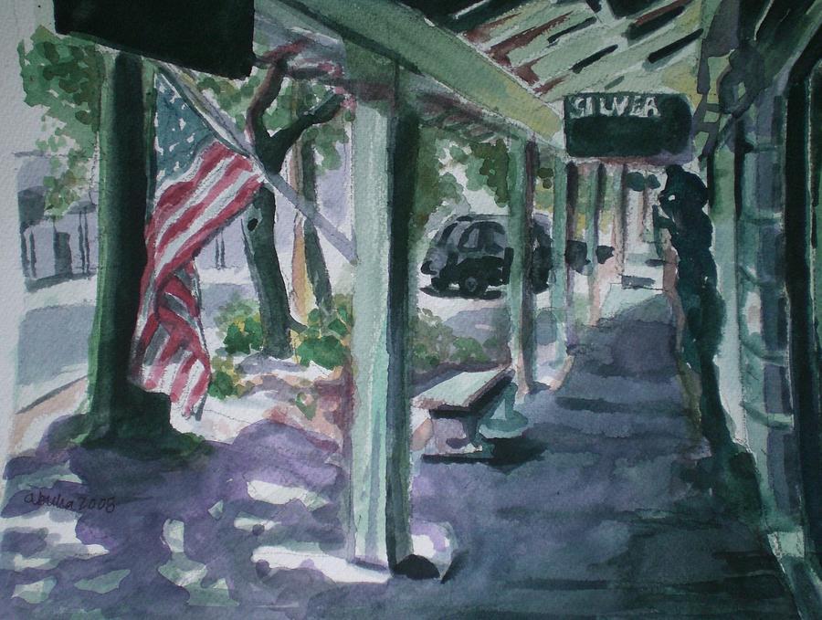 American Flag Painting - American Flag by Aleksandra Buha