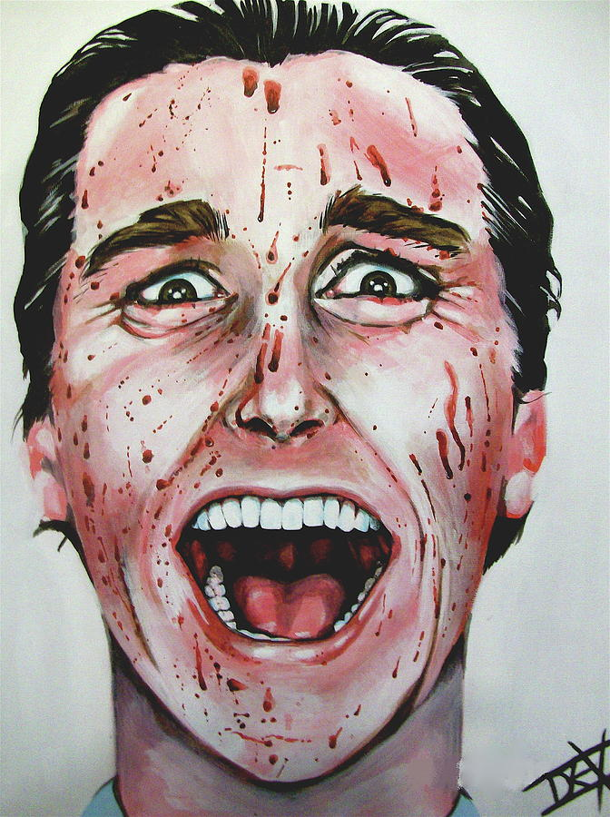 American Psycho Painting