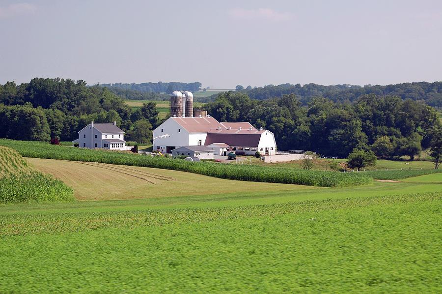 Amish Photograph - Amish Farm by Joyce Huhra