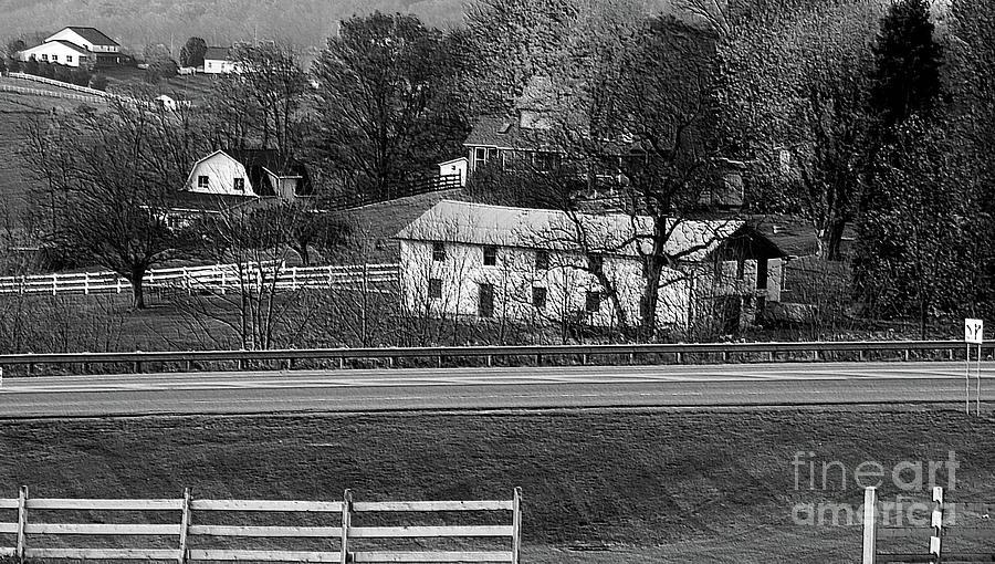 Amish Photograph - Amish Farm by Kathleen Struckle