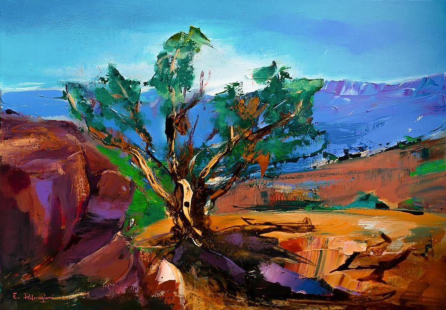 Among The Red Rocks - Sedona Painting