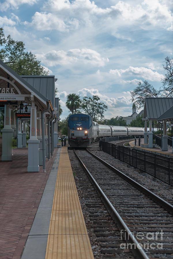 Amtrak Winter Park Photograph