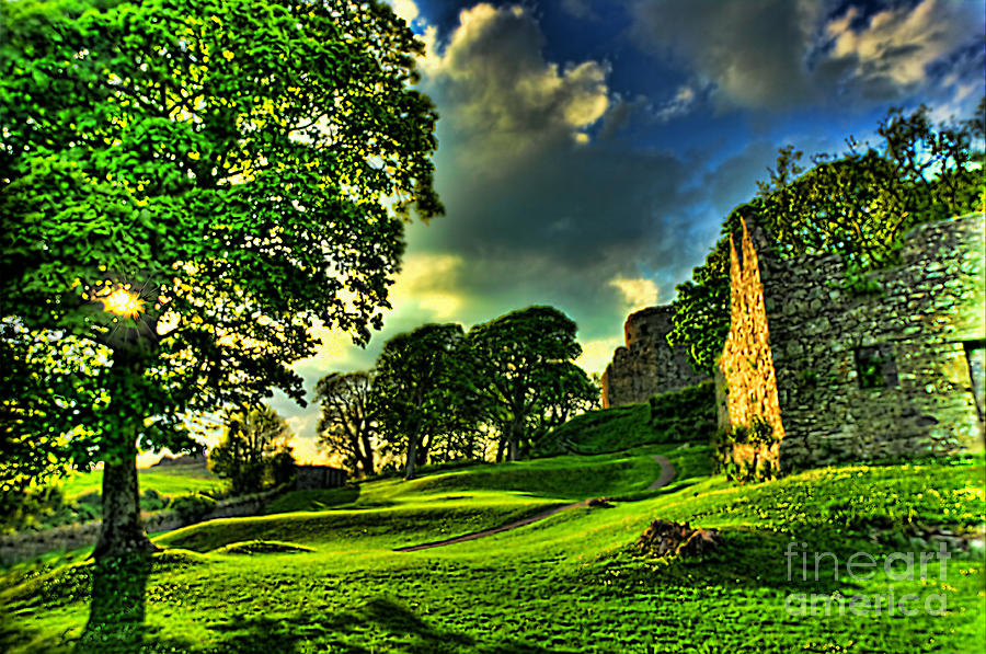 Dundrum Castle Photograph - An Irish Fantasy by Kim Shatwell-Irishphotographer