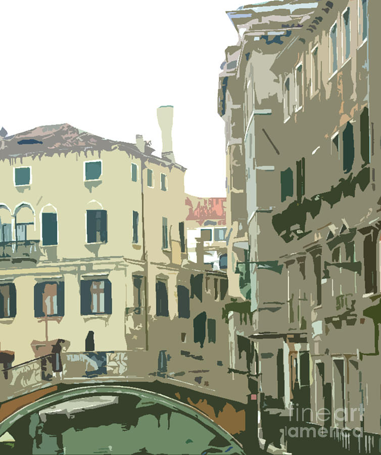Venice Photograph - Ancient Italian Canal In Venice by Mindy Newman