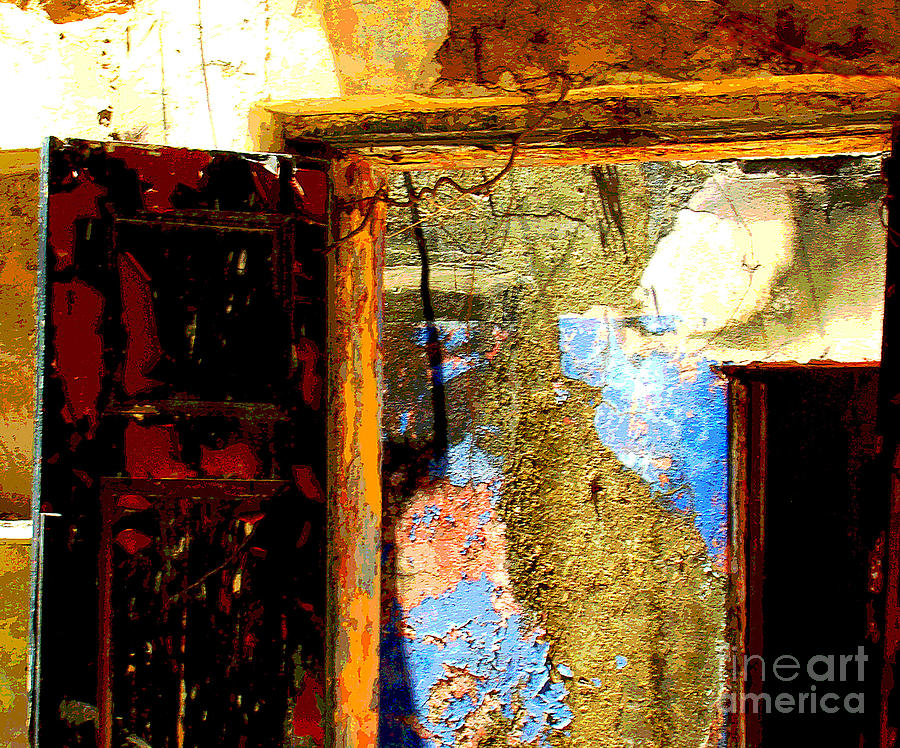 Michael Fitzpatrick Photograph - Ancient Wall 3 By Michael Fitzpatrick by Mexicolors Art Photography
