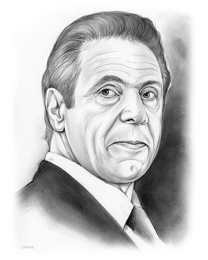 Andrew Cuomo Drawing