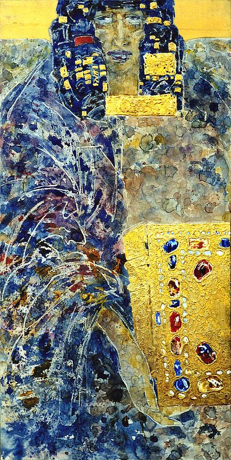 Altar Painting - Angel-4 by Valeriy Mavlo