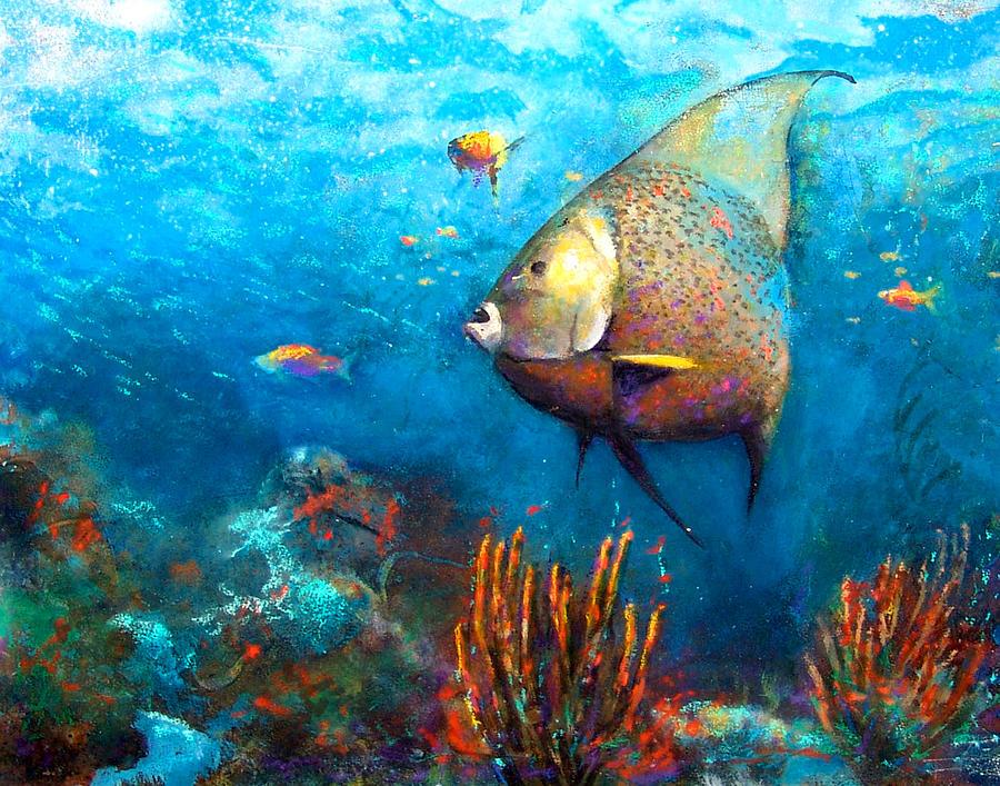 Angel Fish Painting