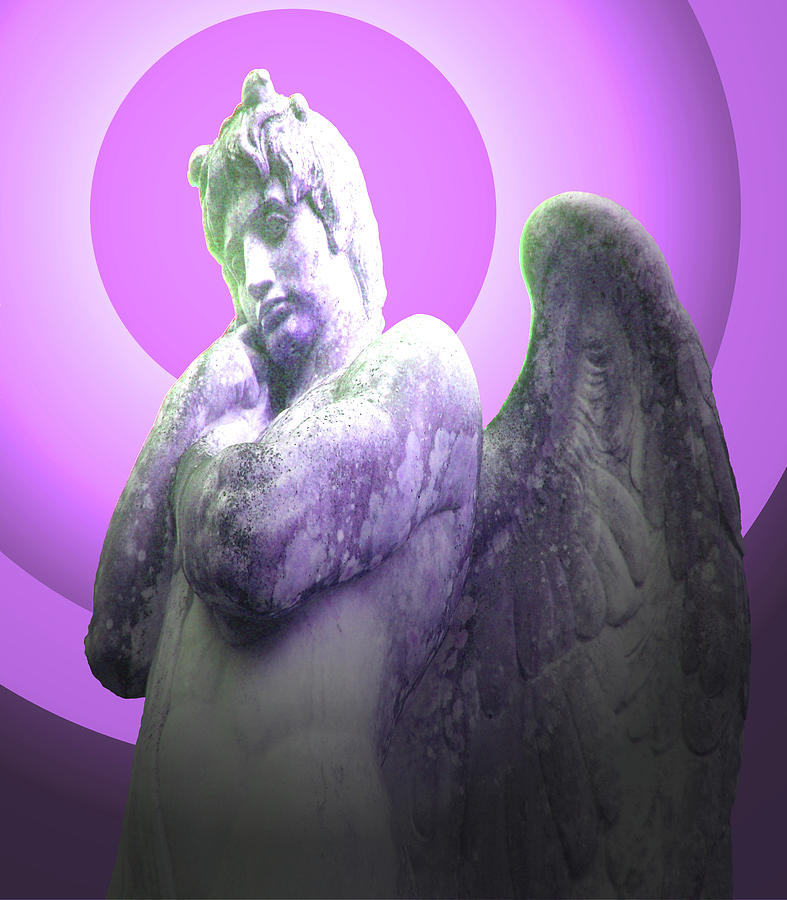 Angel Of Youth Mixed Media - Angel Of Youth No. 02 by Ramon Labusch