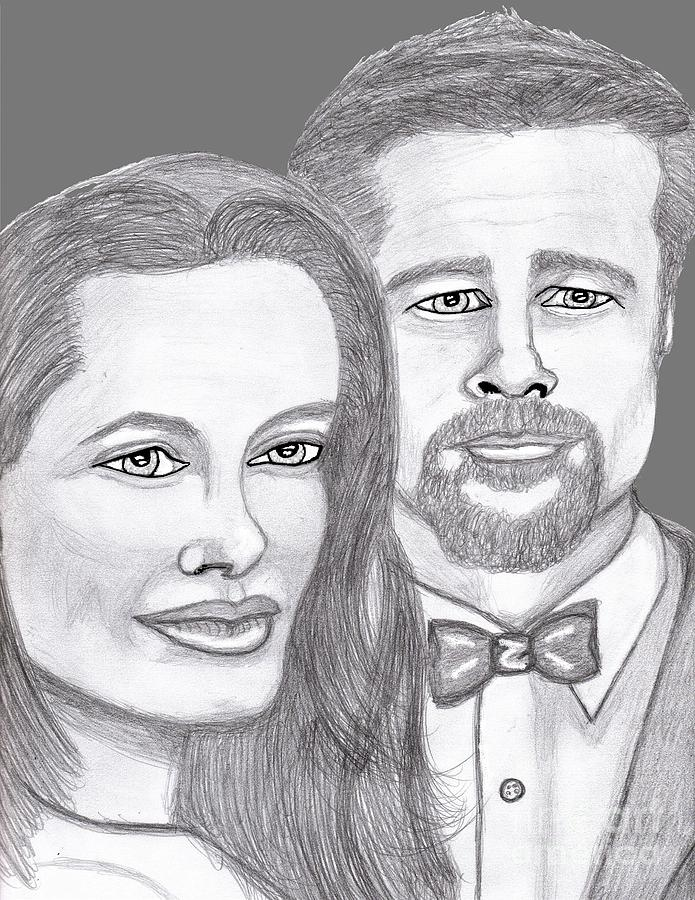 Angie And Brad Painting