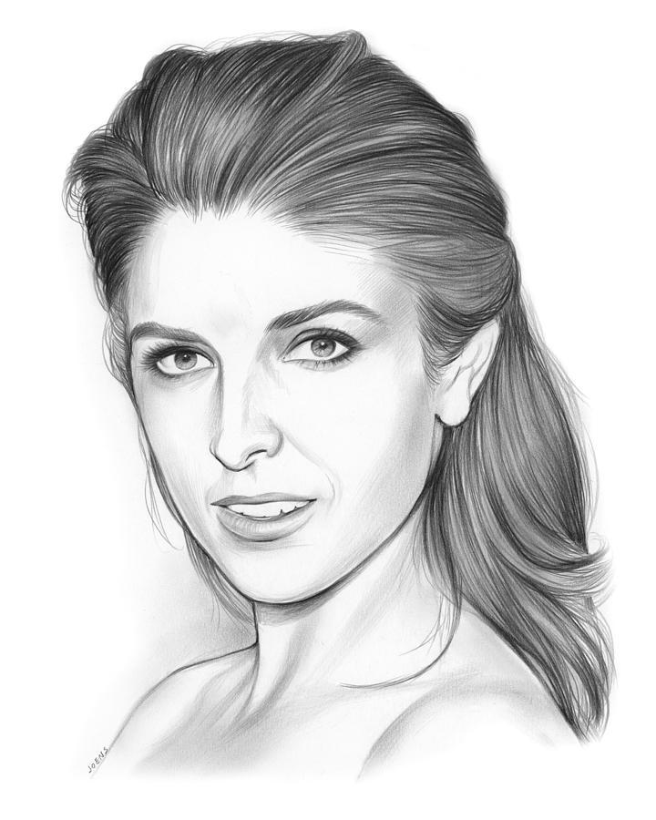 Anna Kendrick Drawing