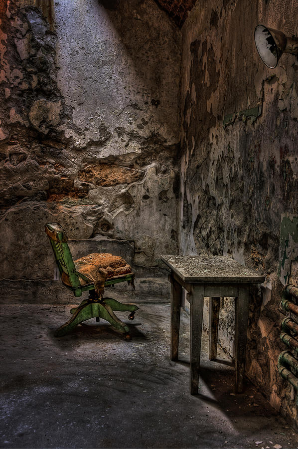 Chair Photograph - Another One Bites The Dust by Evelina Kremsdorf