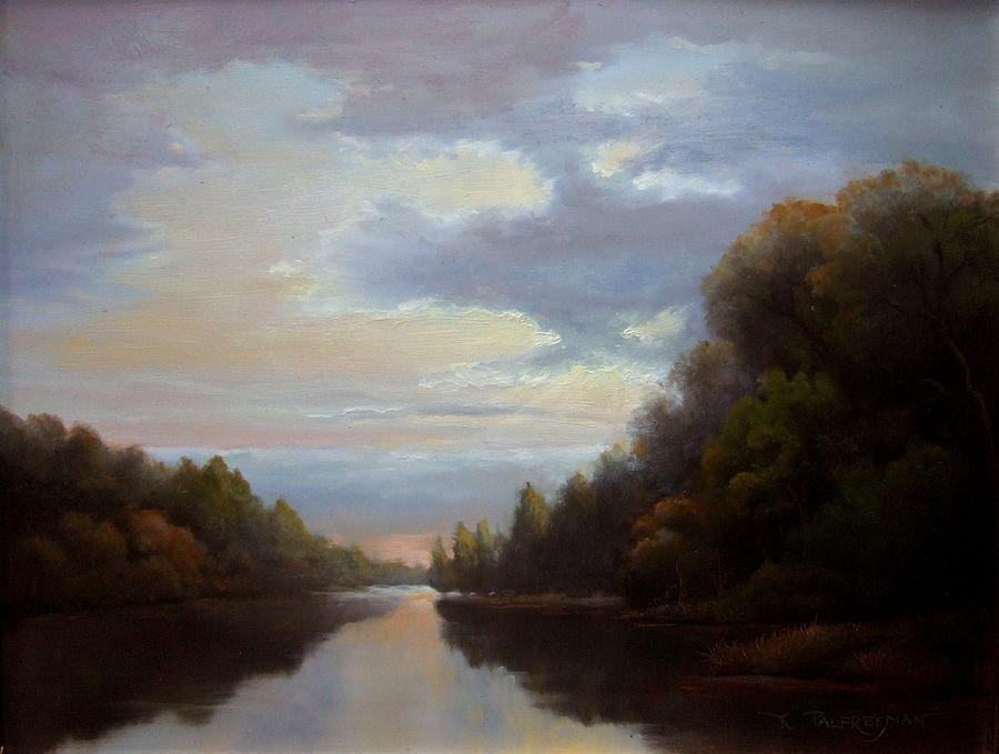 Hudson Valley Landscape Painting - Another Passage by Kevin Palfreyman