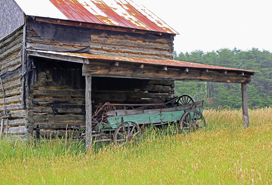 Barn Photograph - Another Time IIi by Suzanne Gaff