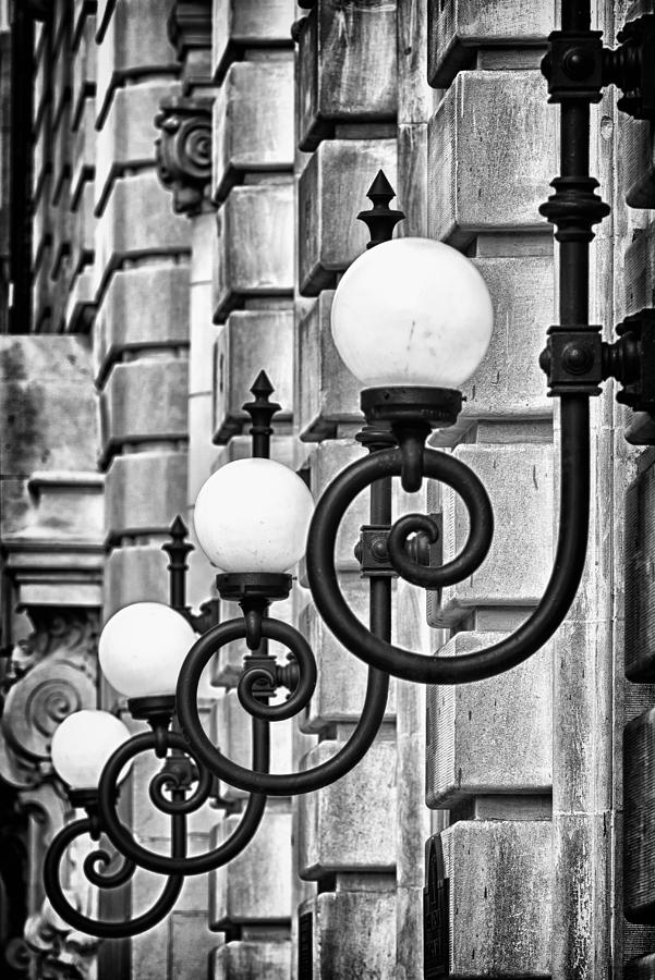 Us Photograph - Ansonia Building Detail 20 by Val Black Russian Tourchin