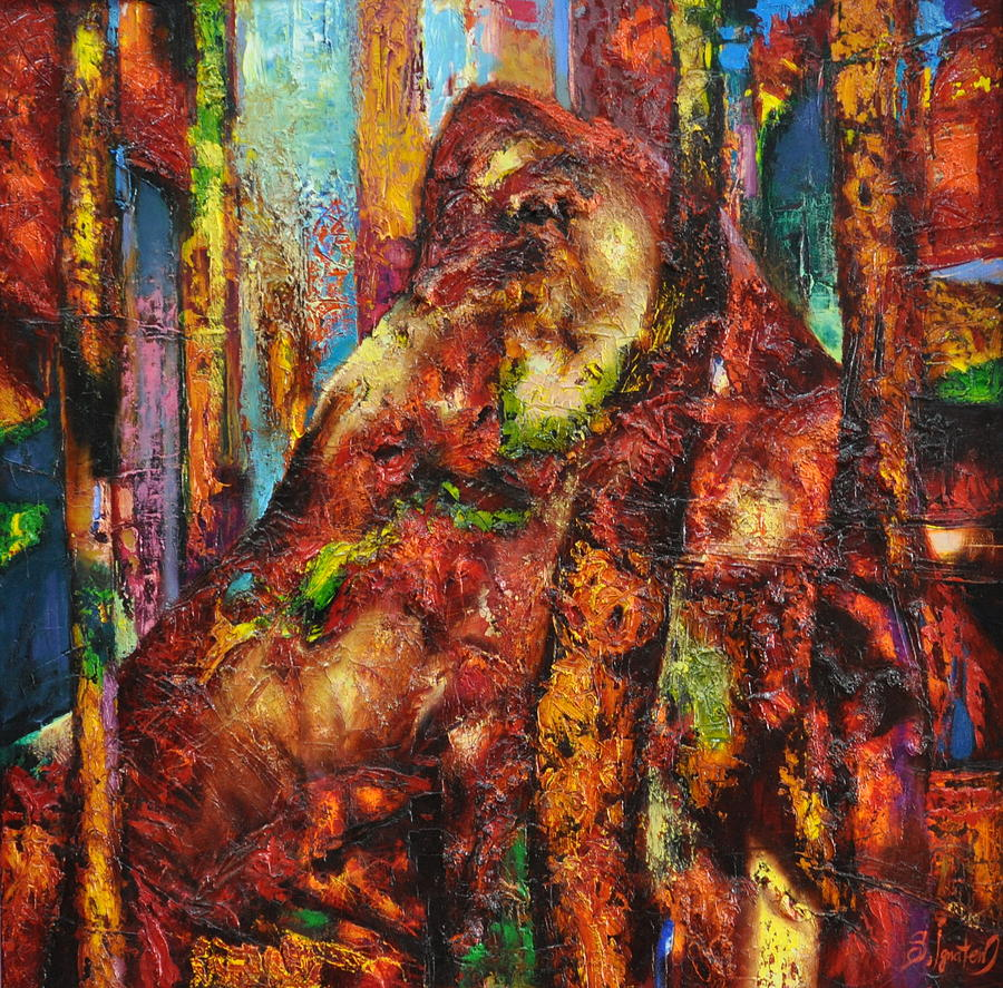 Ignatenko Painting - Anthill by Sergey Ignatenko