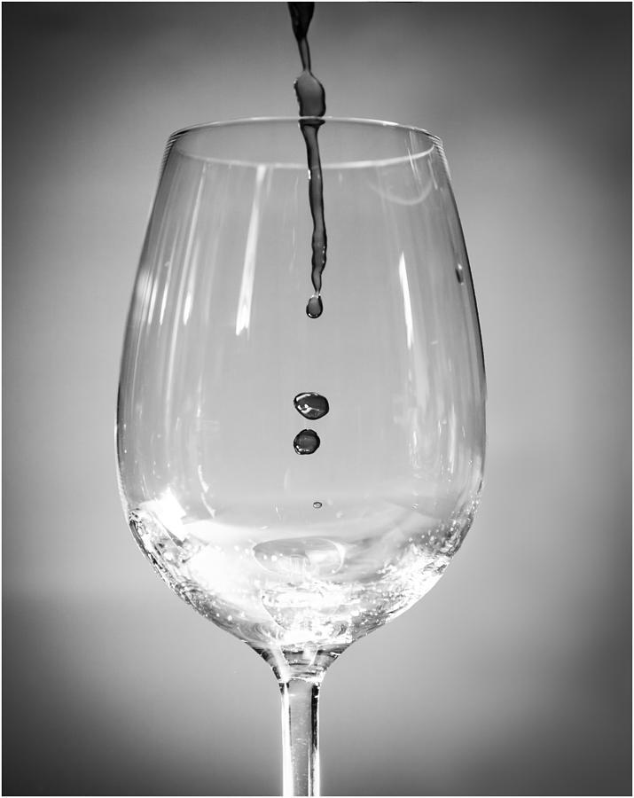 Wine Photograph - Anticipation by Nigel Jones