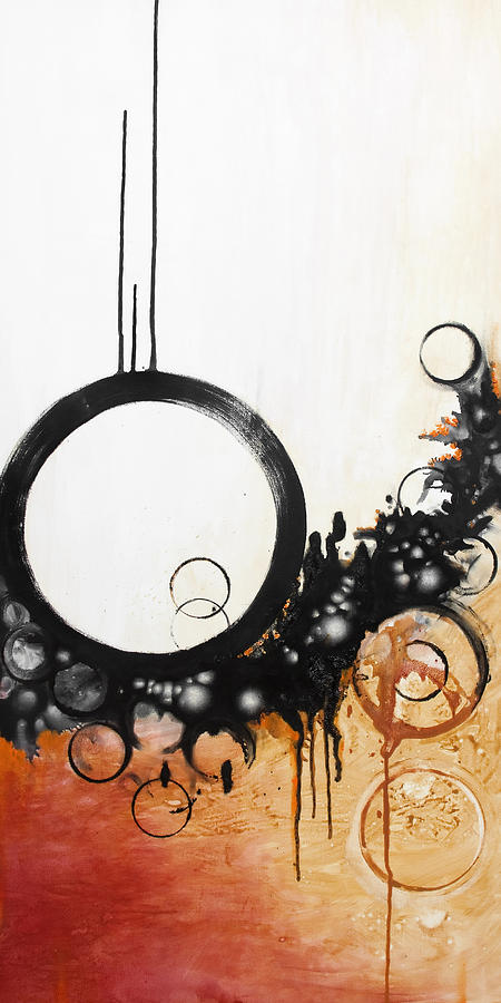 Oil Painting - Antigravity by Mike Irwin