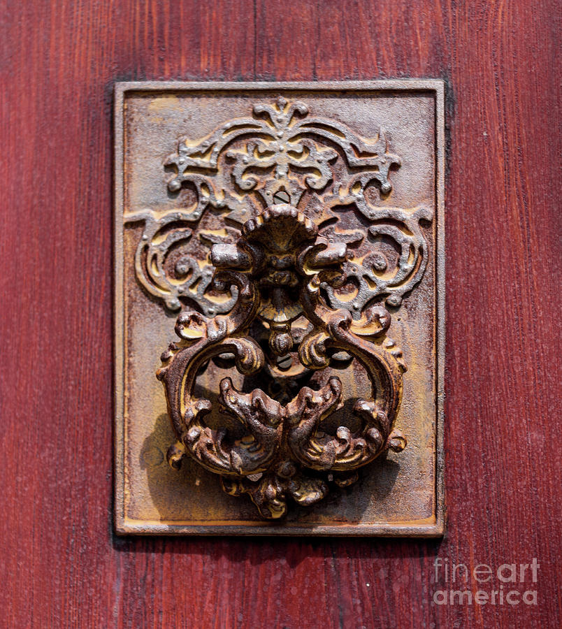 Antique Charleston Door Knocker Photograph