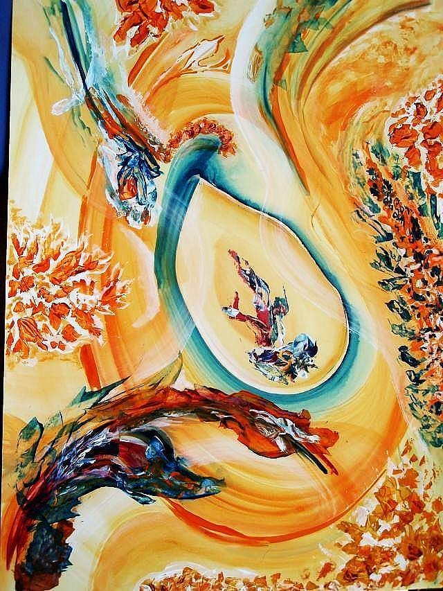 Apertura Teleskop Cosmos Eyes Painting - Apertura by Vlado  Katkic