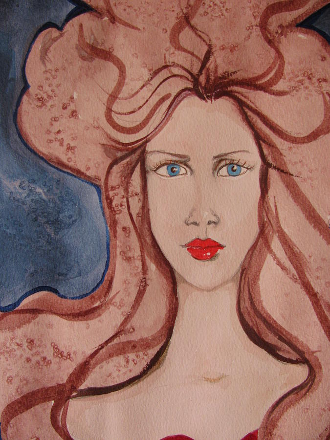 Myth Painting - Aphrodite by Lindie Racz