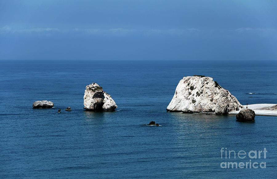 Rocks Photograph - Aphrodites Rocks by John Rizzuto