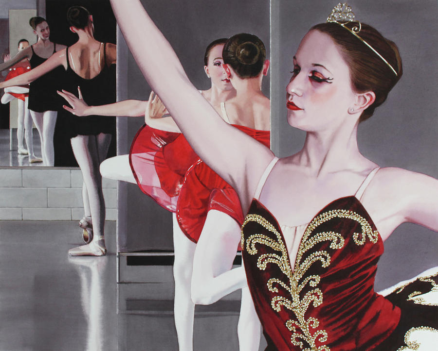 Ballet Painting - Aplomb by Denny Bond