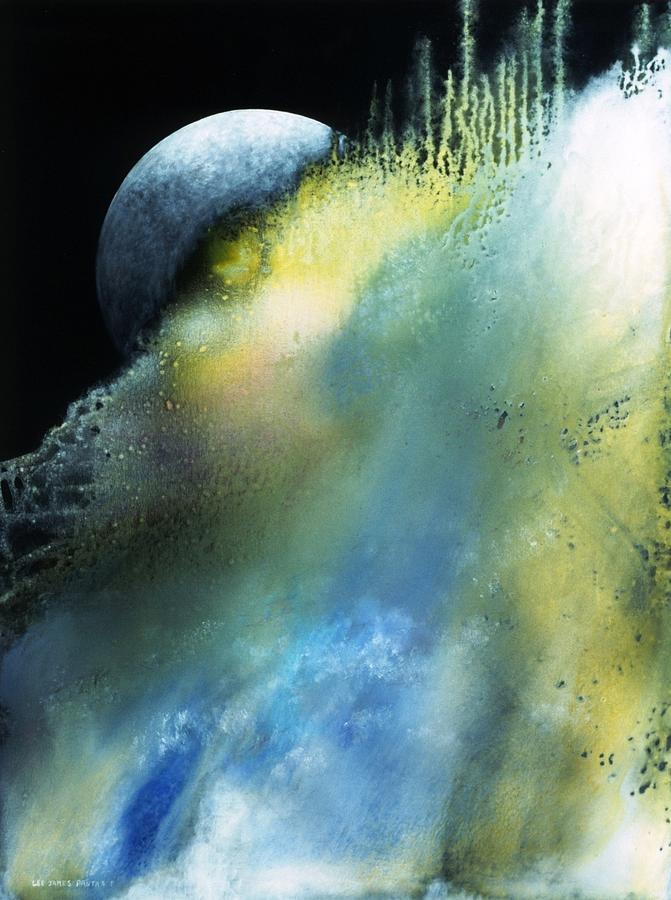 Spiritual Painting - Apollo by Lee Pantas