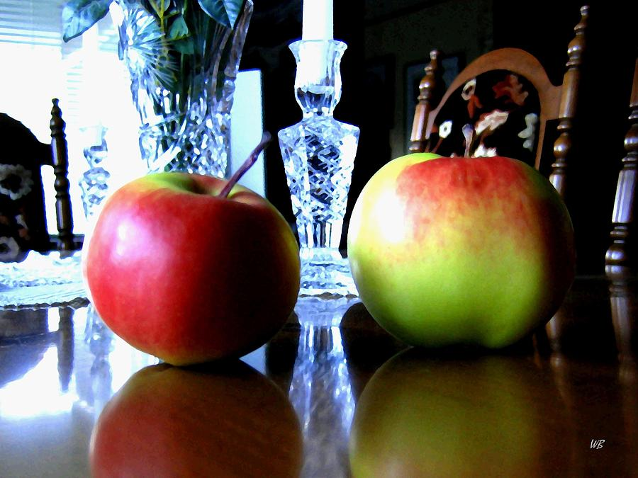 Apples Photograph - Apples Still Life by Will Borden