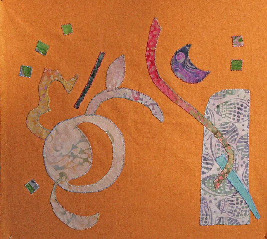 Applique Tapestry - Textile - Applique 2 by Eileen Hale