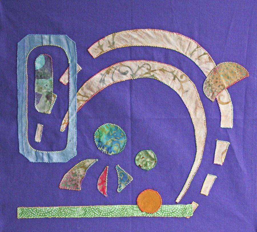 Applique Tapestry - Textile - Applique 8 by Eileen Hale